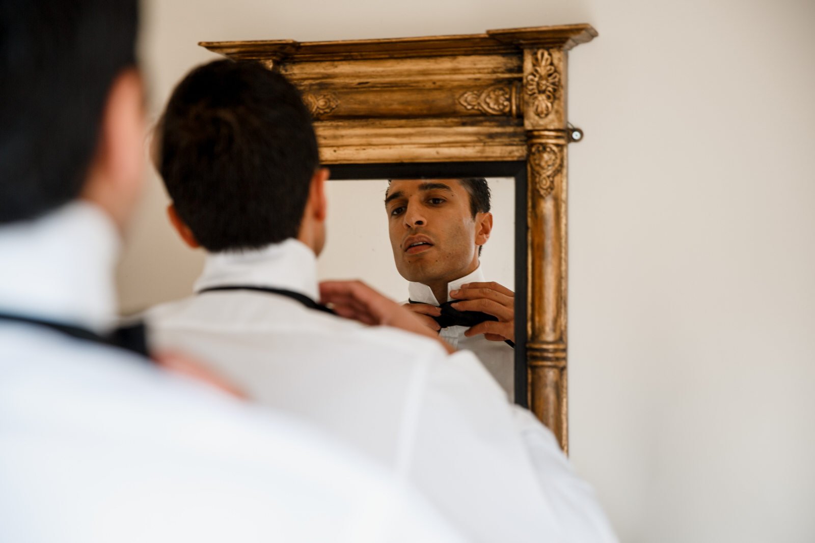 groom at middle stanley cotswolds
