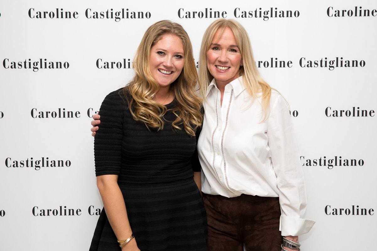 Caroline Castigliano and Kendra Leaver
