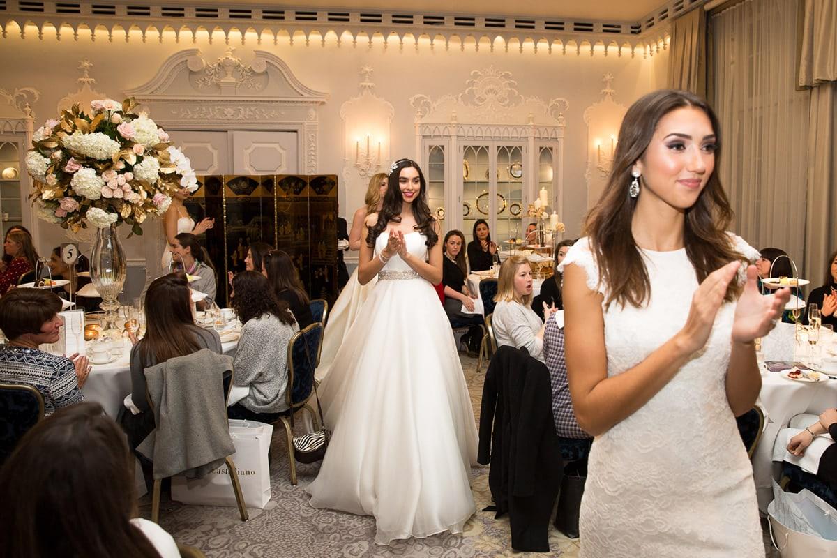 caroline castigliano bridal dress show