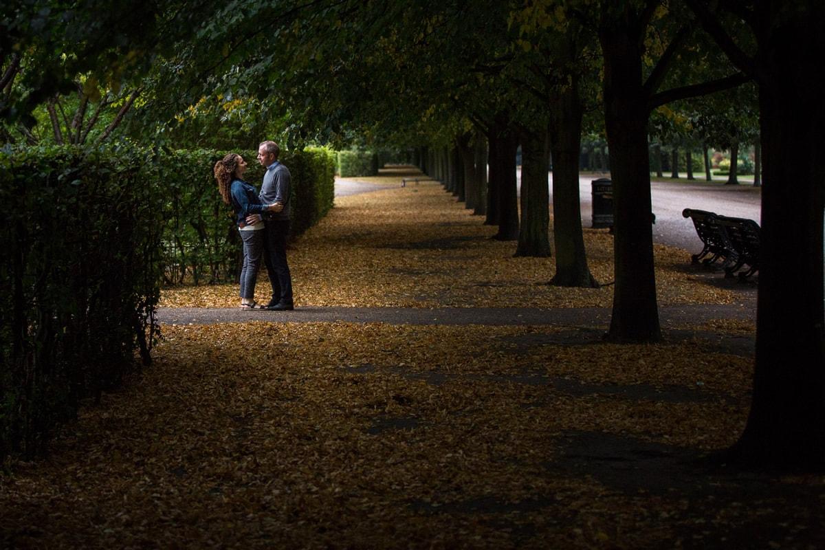 Regents Park Engagement Shoot