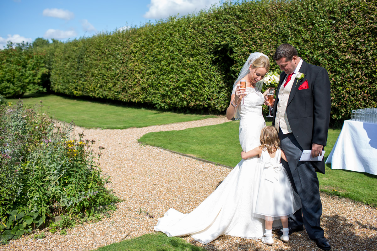 reception at chapel down winery wedding
