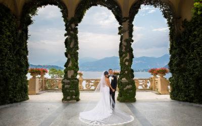 Lake Como Wedding Photography – Villa del Balbianello – Kani and Brian