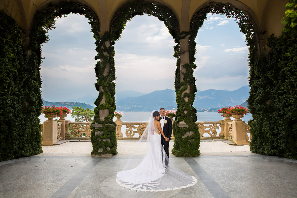 Lake Como Wedding Photography - Kani and Brian
