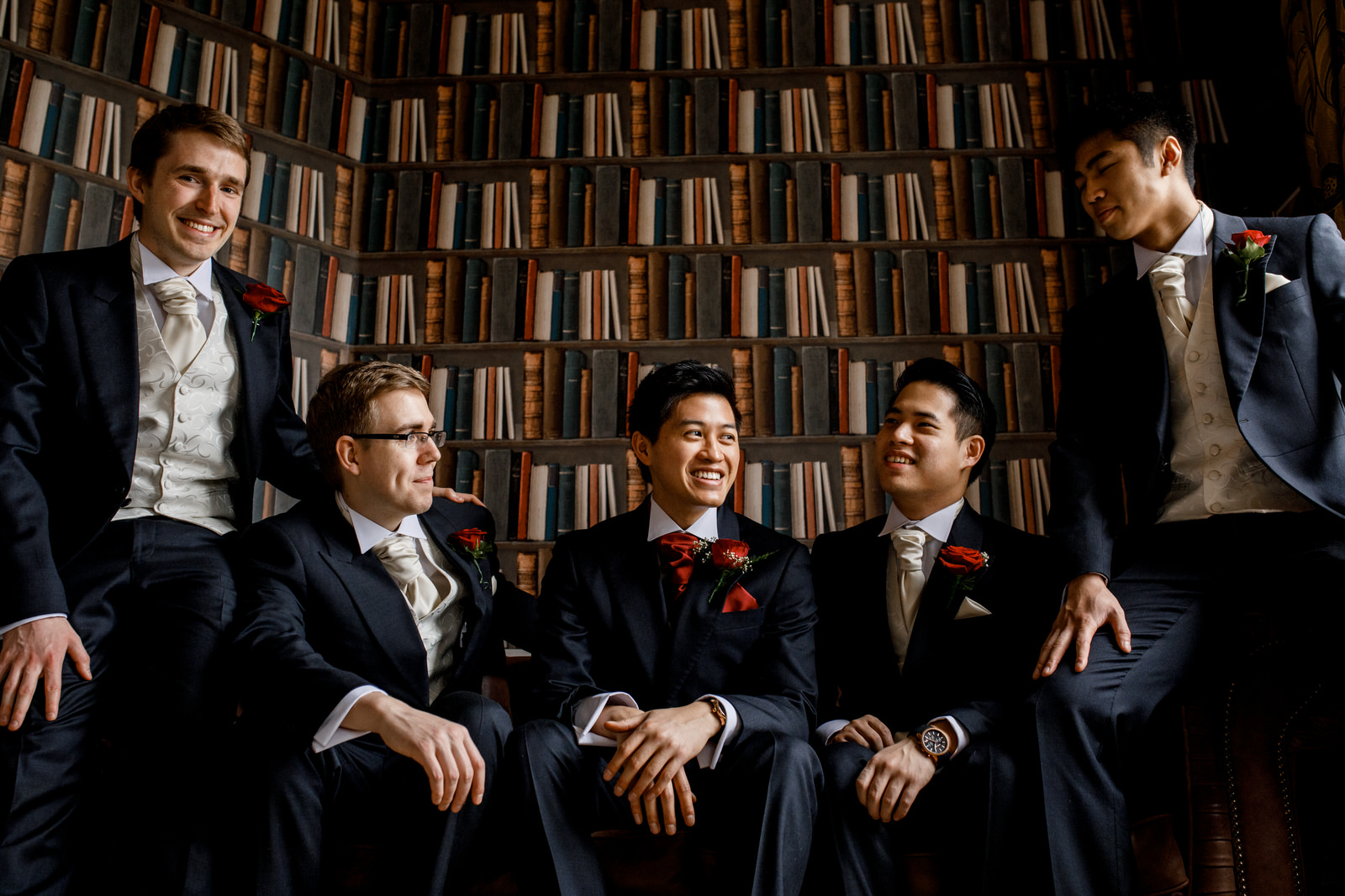 groom portraits at hedsor house