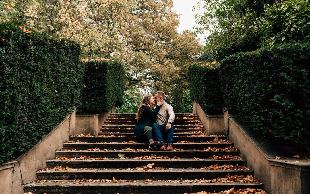Holland Park Engagement Photography – Hannah and Ben
