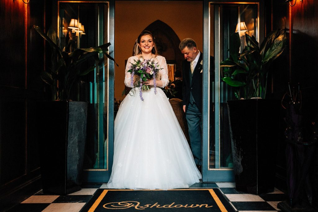 ashdown park hotel wedding photographer
