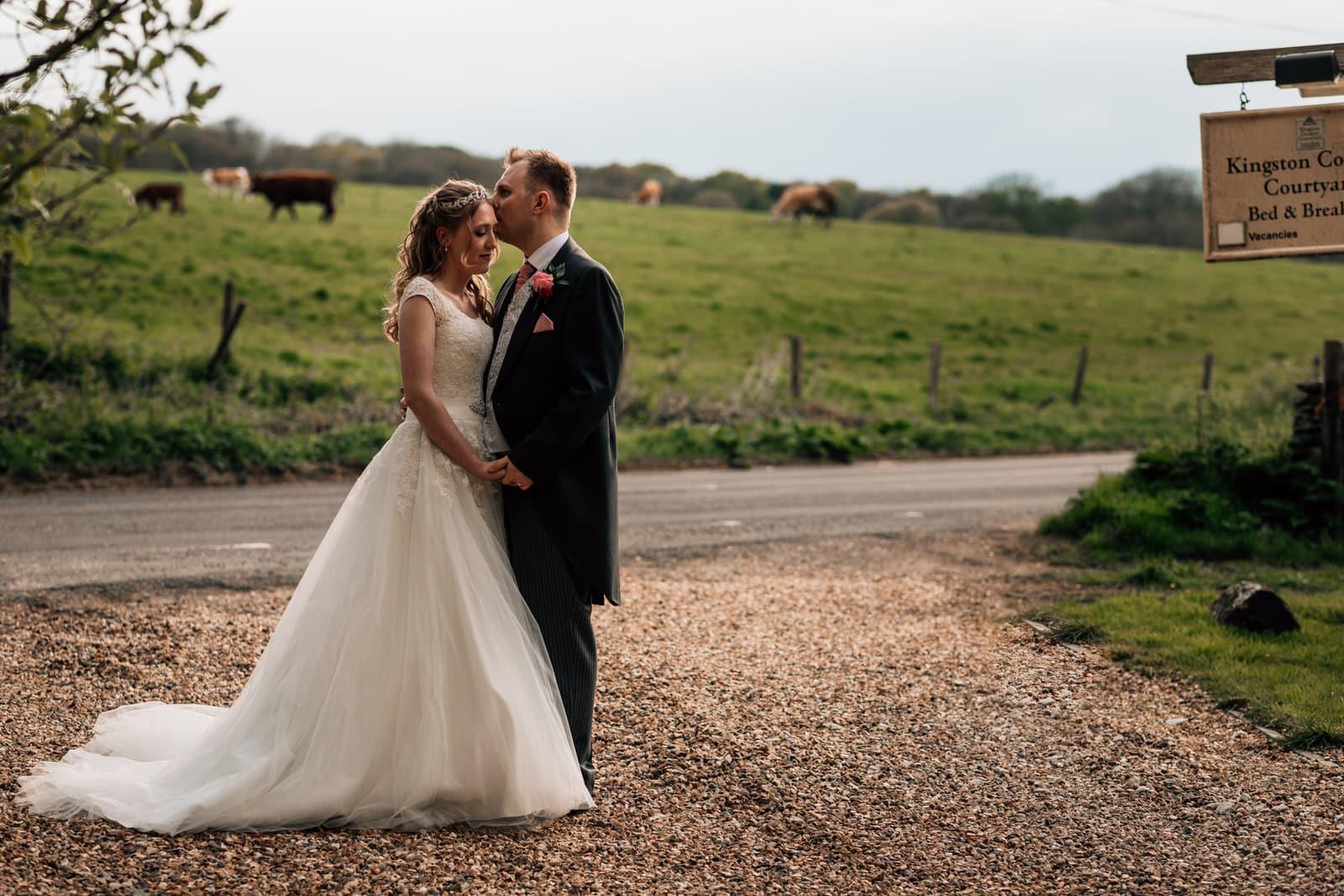 Kingston County Courtyard Wedding Photography