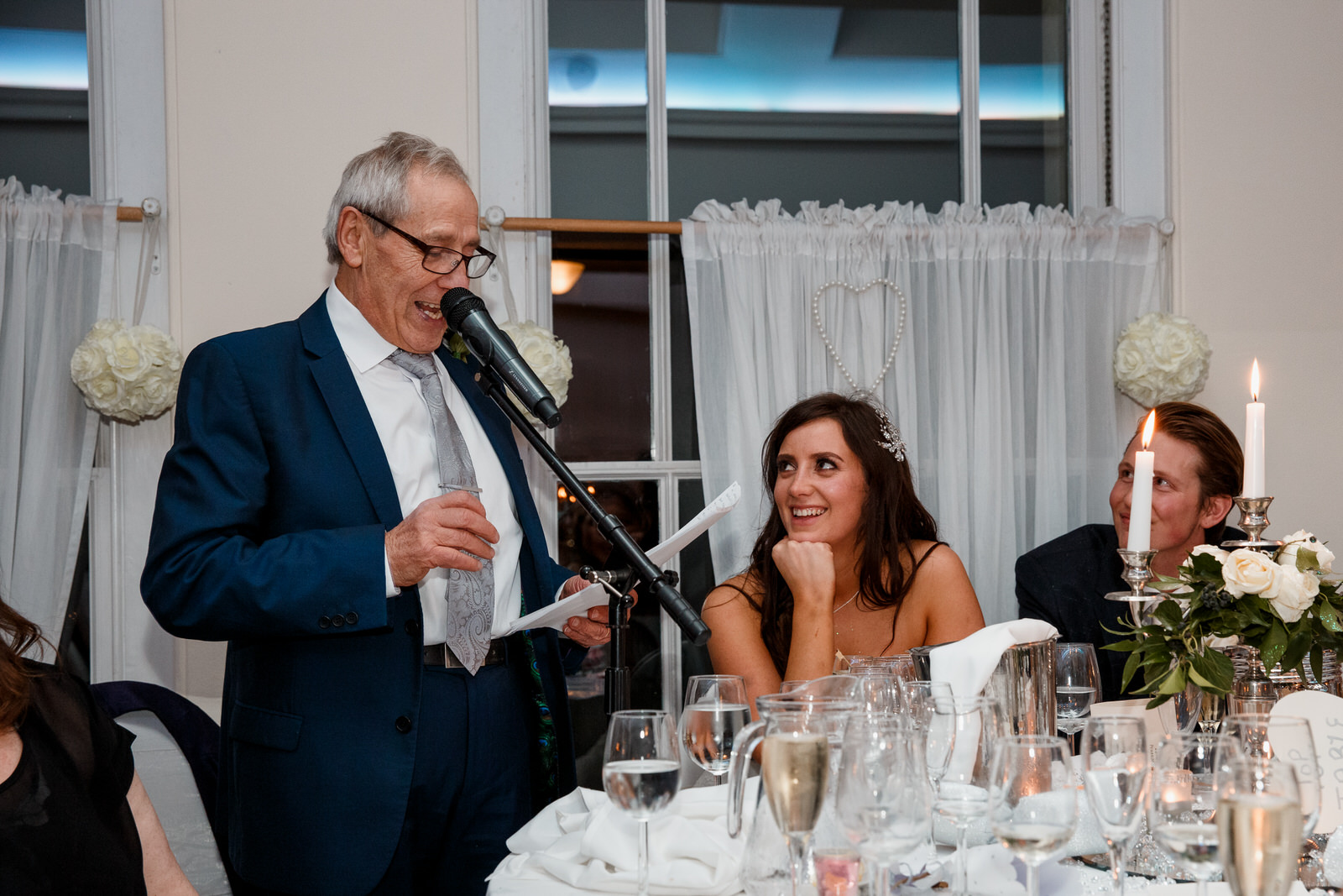father of the bride speech at pembroke lodge