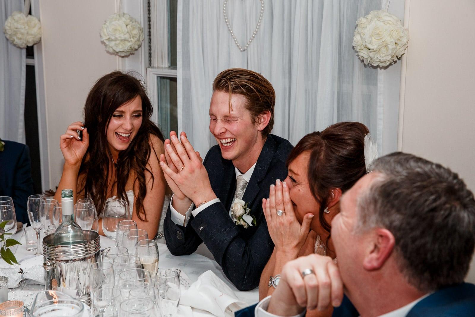 wedding reception at prmbroke lodge