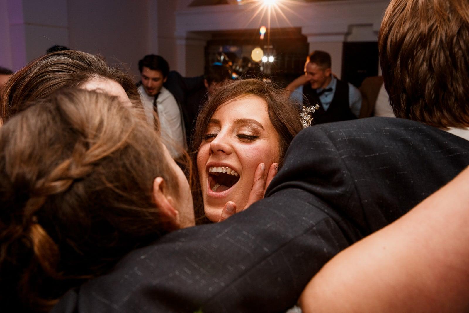 bride dancing at pembroke lodge