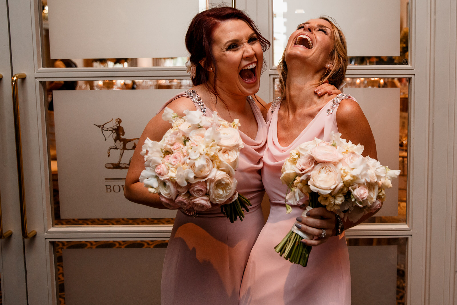 bridesmaids at bowood hotel wedding
