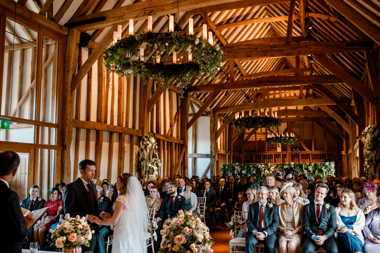 great barn at micklefield hall wedding