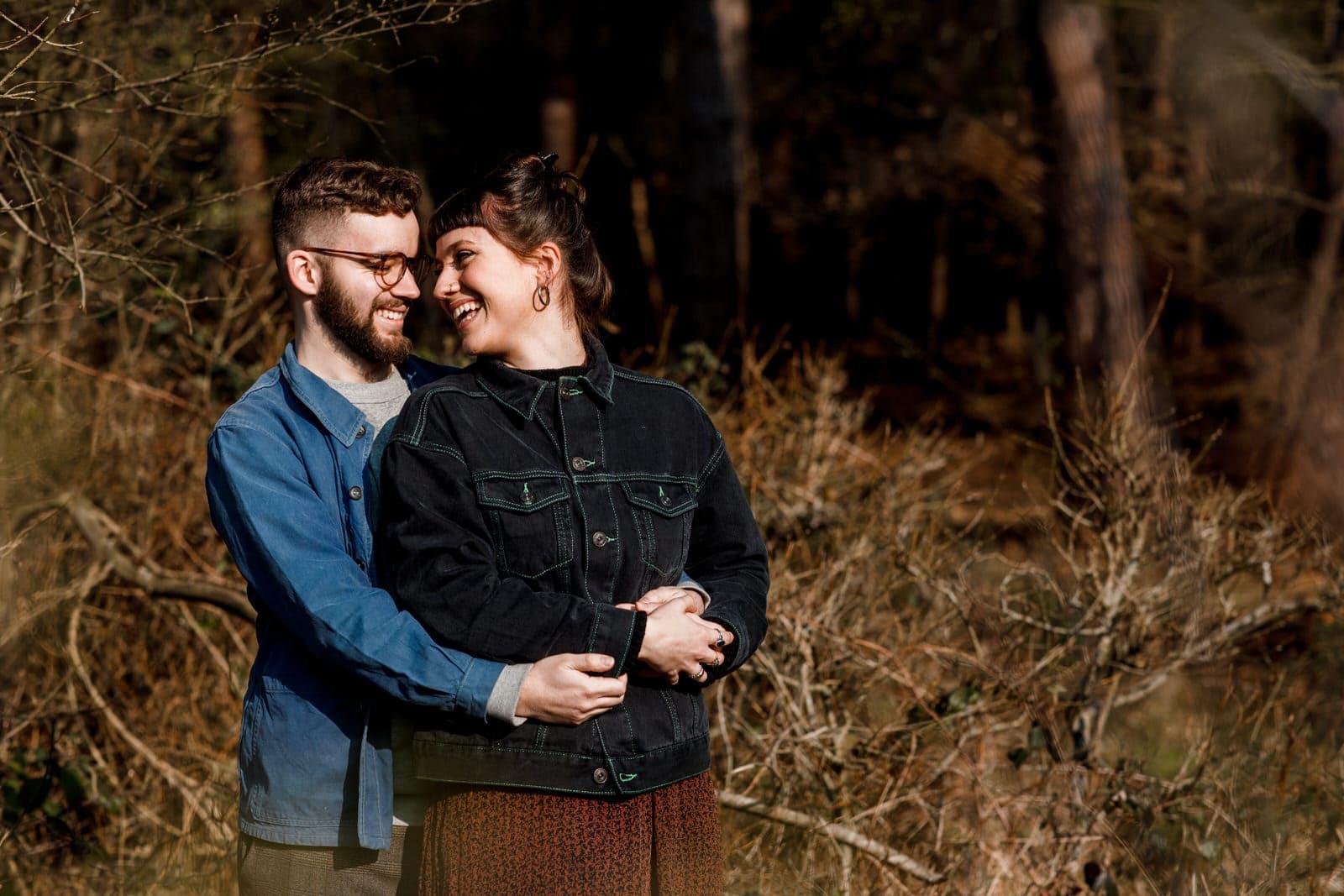 pre-wedding shoot at burnham beeches