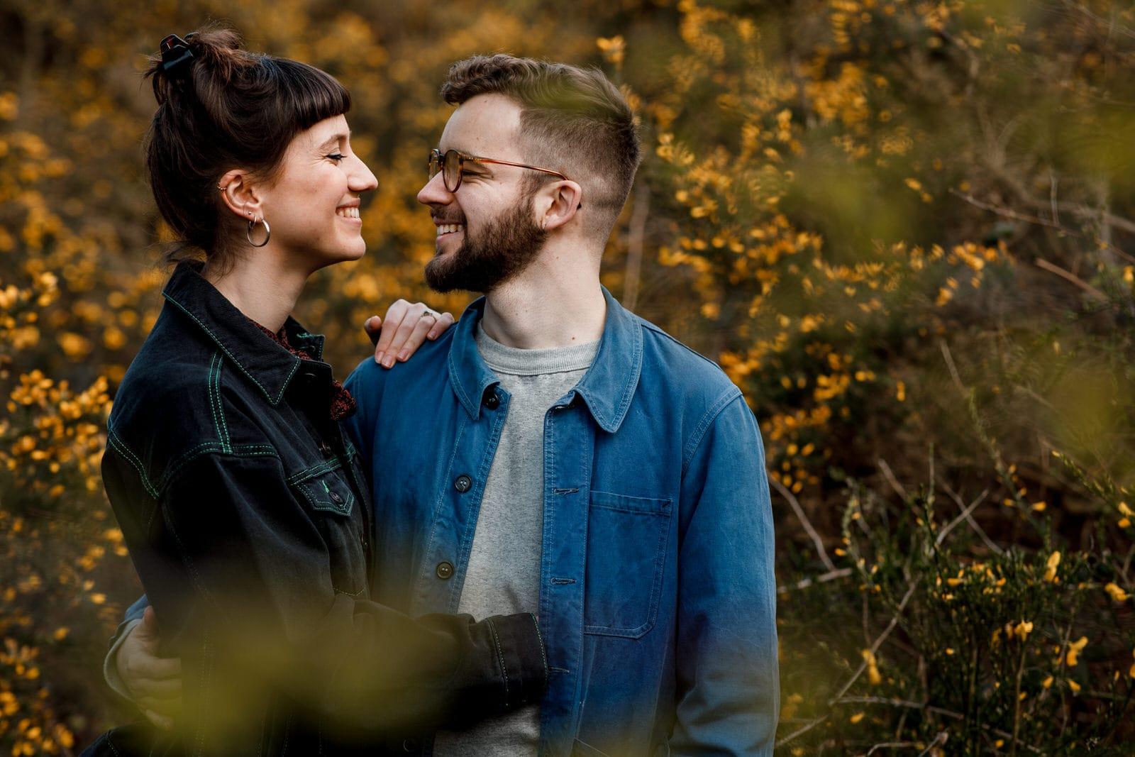 buckinghamshire engagement couple