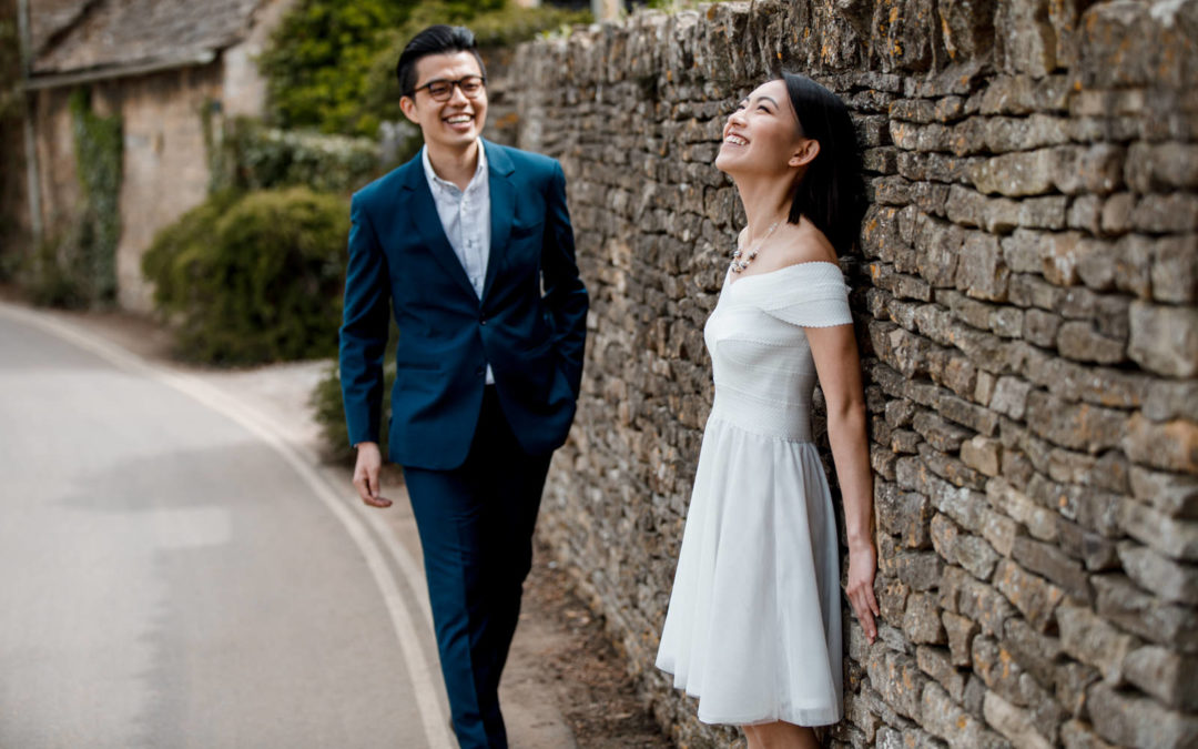 Cotswolds Wedding Photographer – Cara and Lim Engagement Shoot