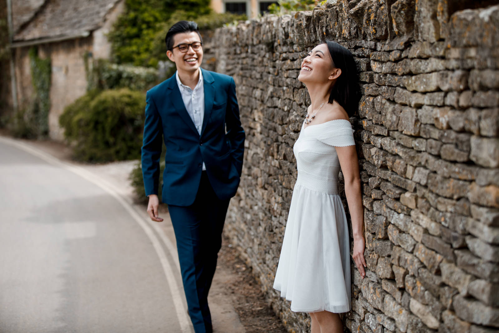 engagement shoot in cotswolds