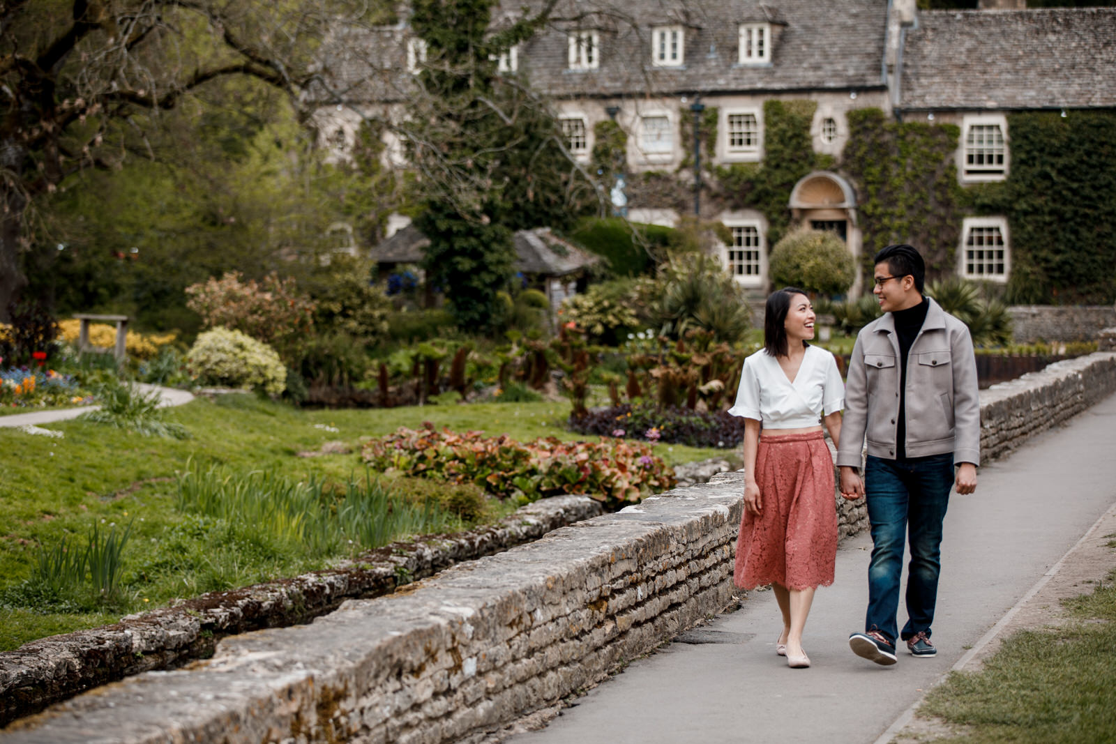 pre-wedding photography in Bibury