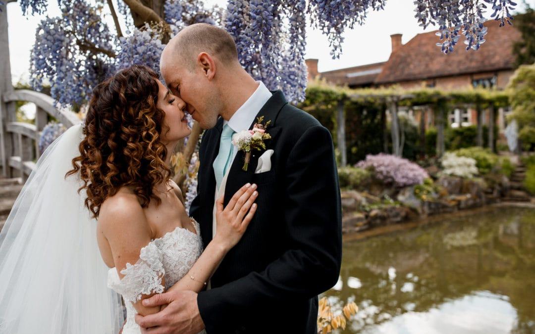 Great Fosters Wedding Photography – Louise and Simon Sneak Peek