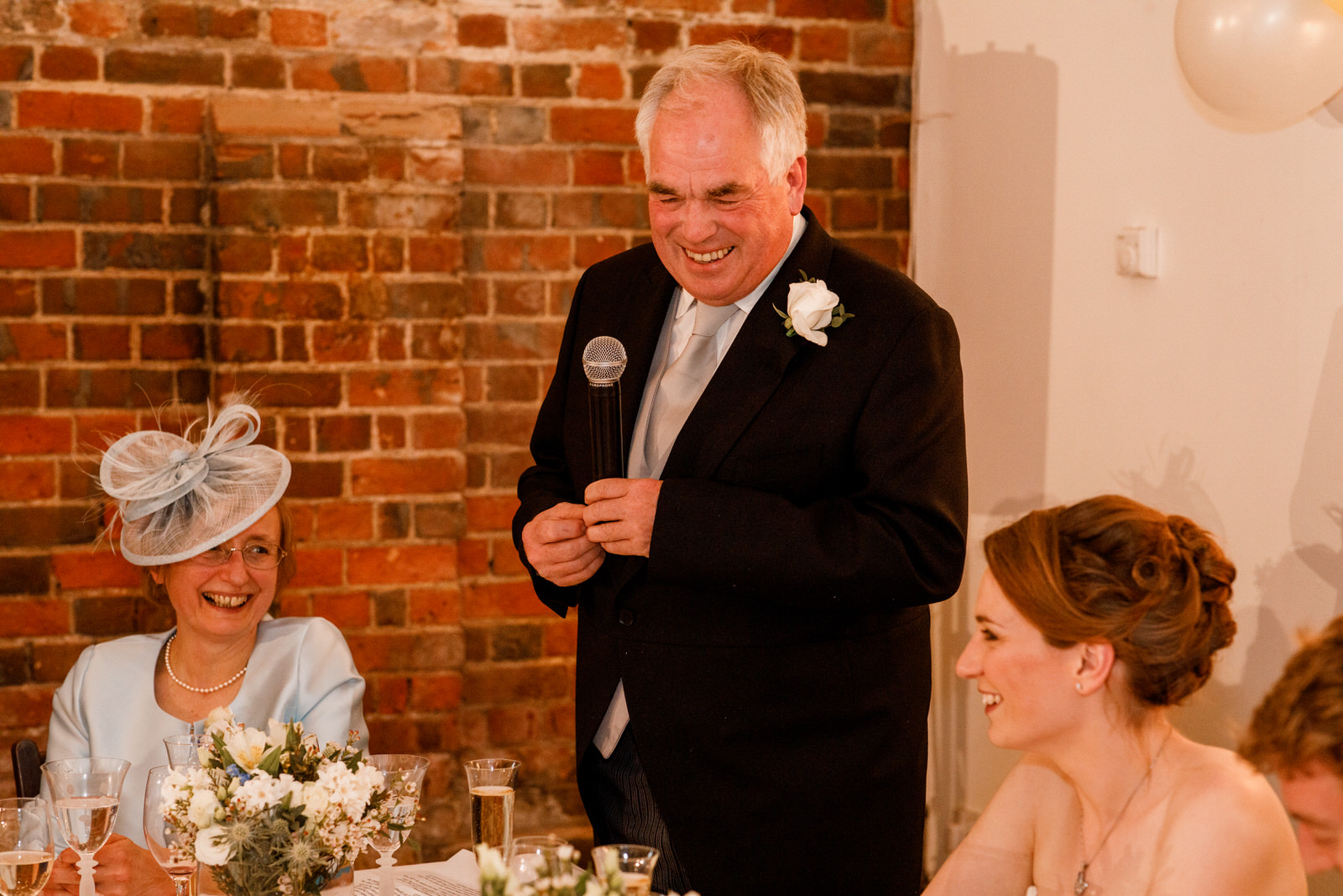 father of the brides speech at chenies manor wedding