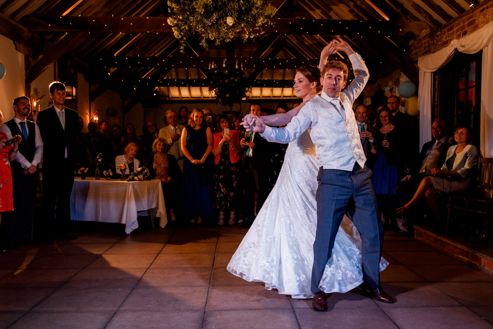 wedding dance at chenies manor