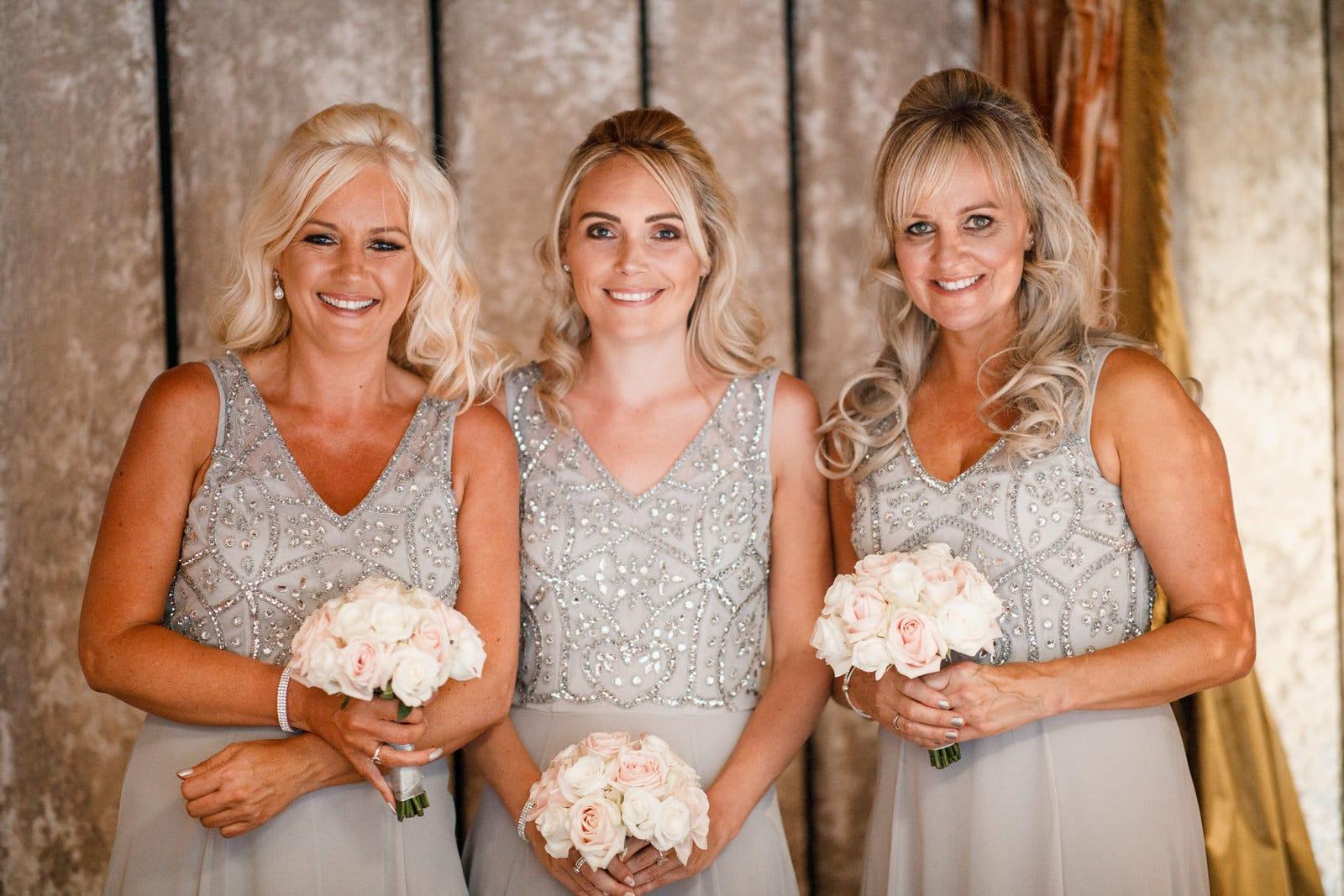 bridesmaids at crazy bear hotel
