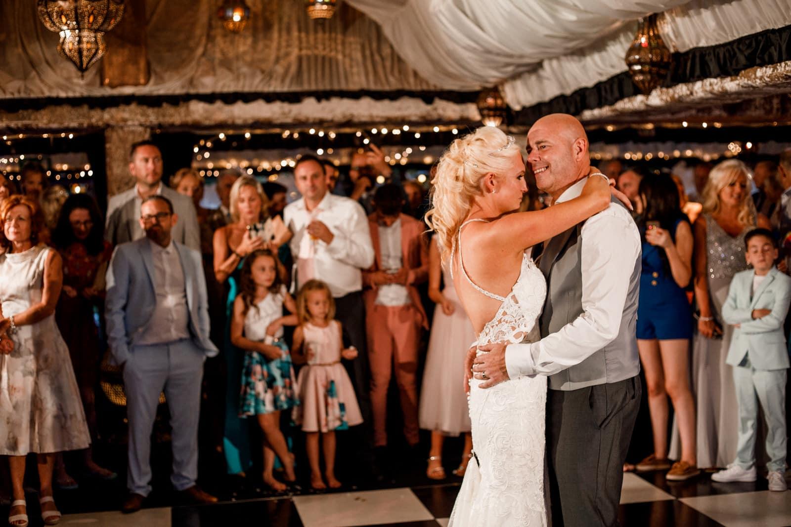 first dance at crazy bear wedding