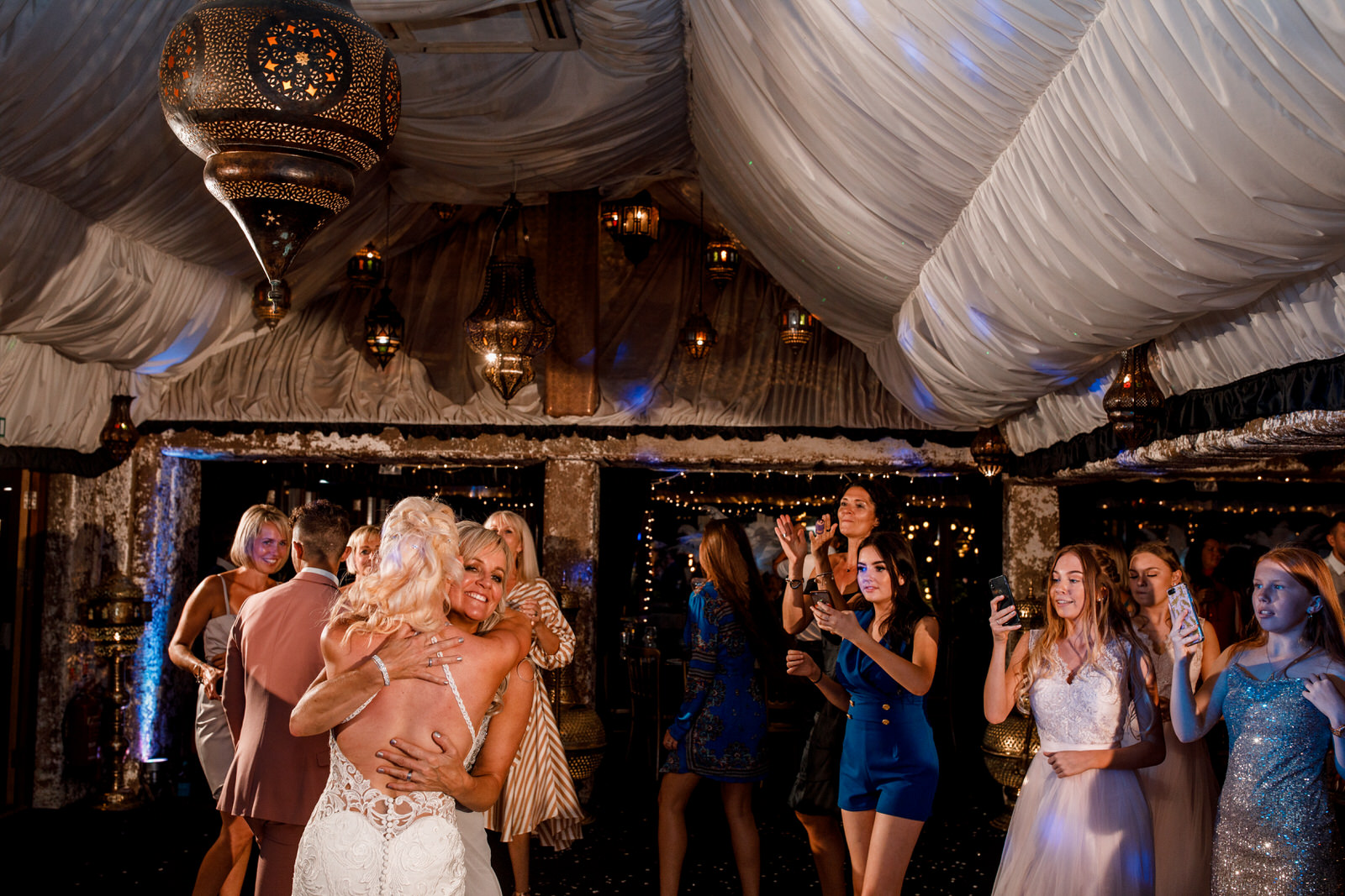 wedding dancing at the crazy bear