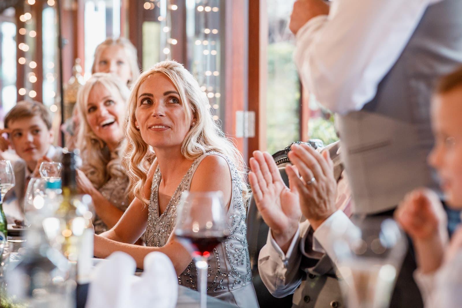 speeches at the crazy bear wedding venue