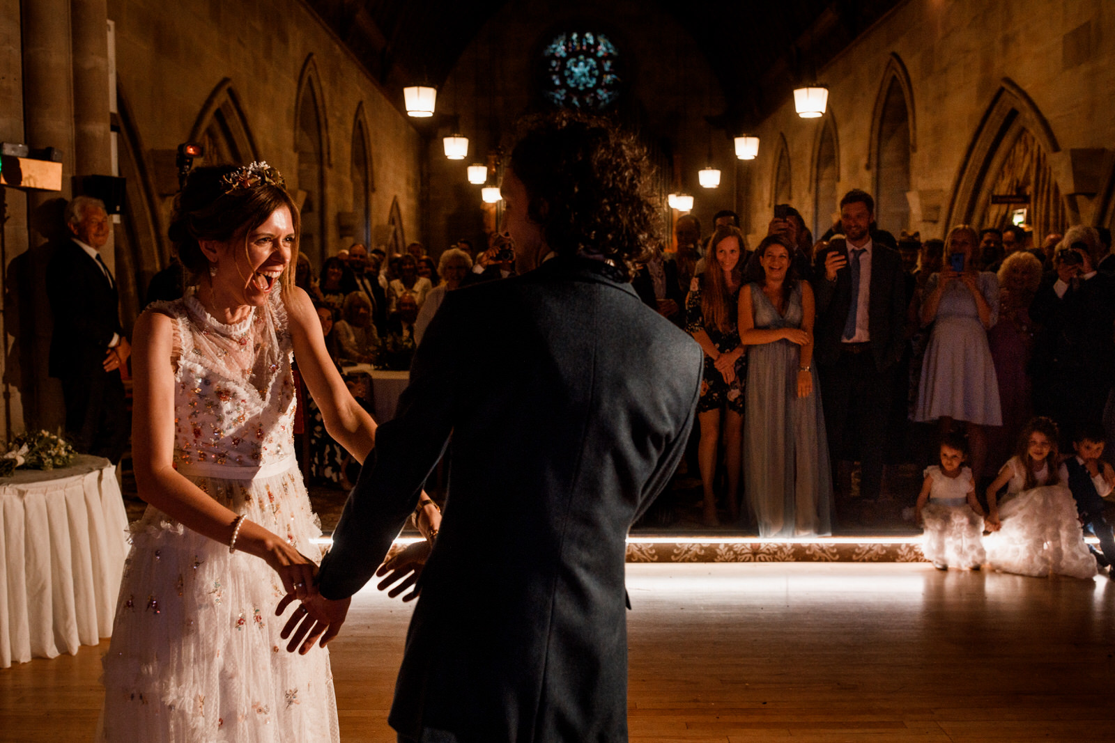first dance at ashdown park hotel wedding