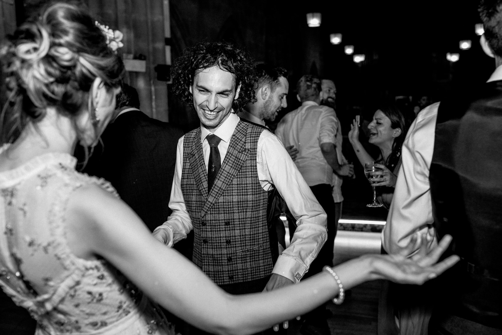 first dance at ashdown park hotel wedding