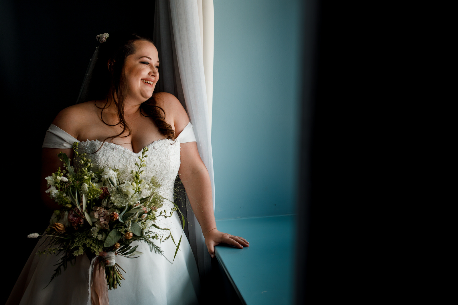 bridal portrait at great house sonning