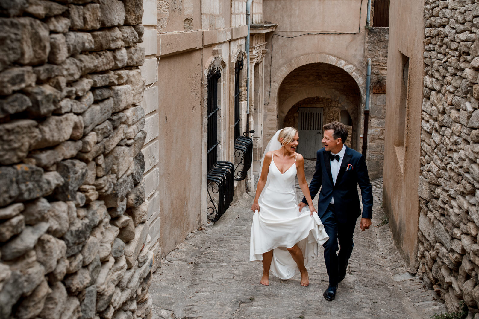 wedding photographer at la bastide de gordes
