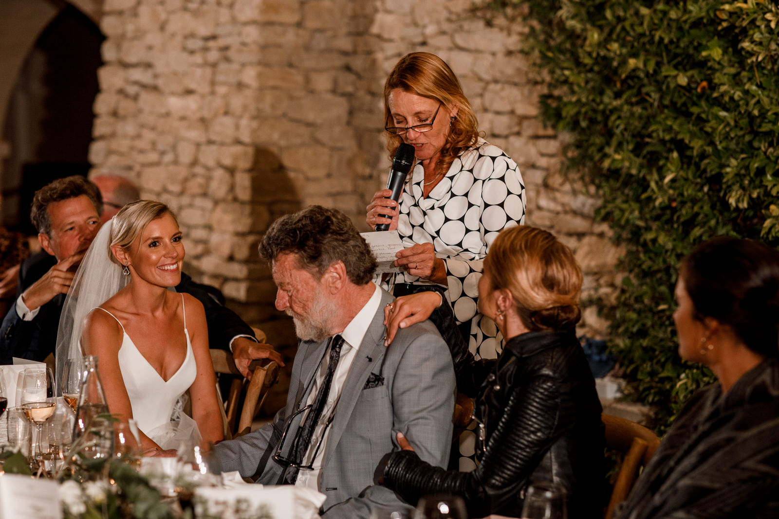 mother of the bride speech at gordes wedding