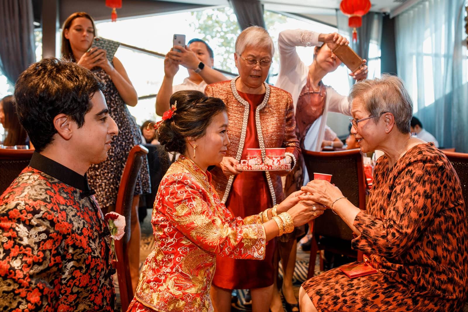 chinese tea ceremony wedding photographer