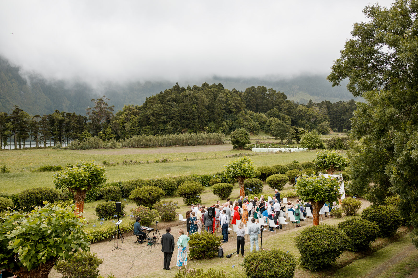 the azores wedding