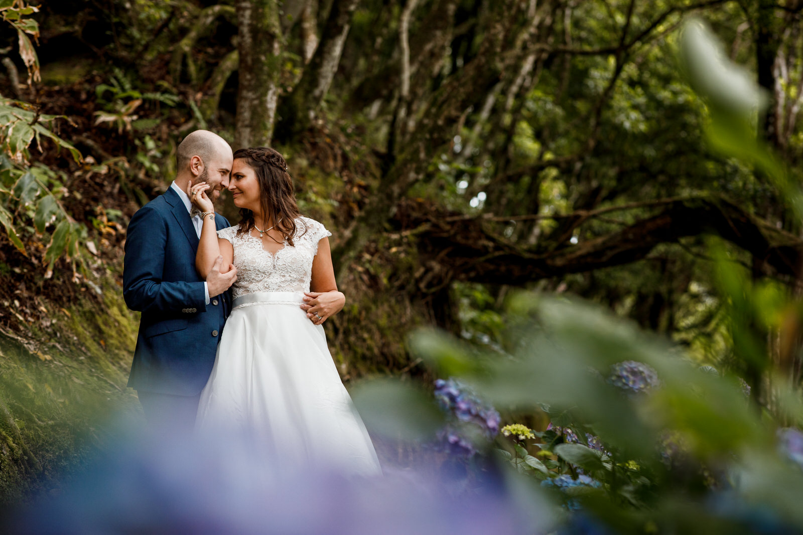 destination wedding photographer the azores