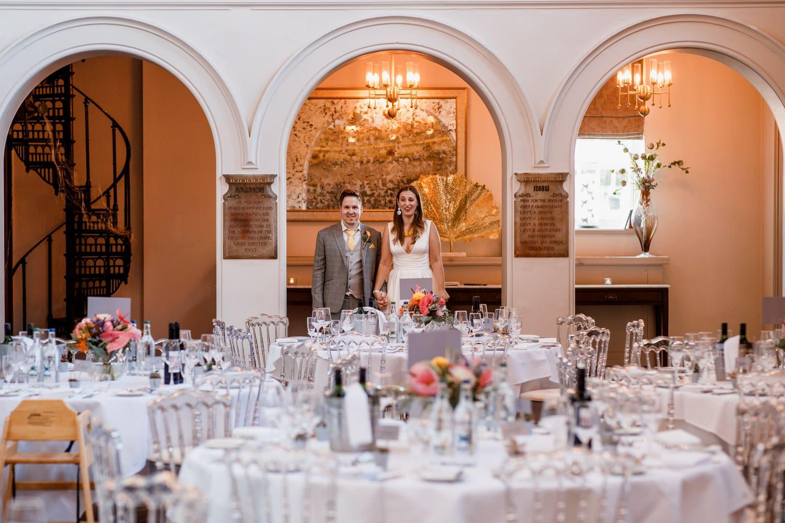 de vere beamont estate wedding room