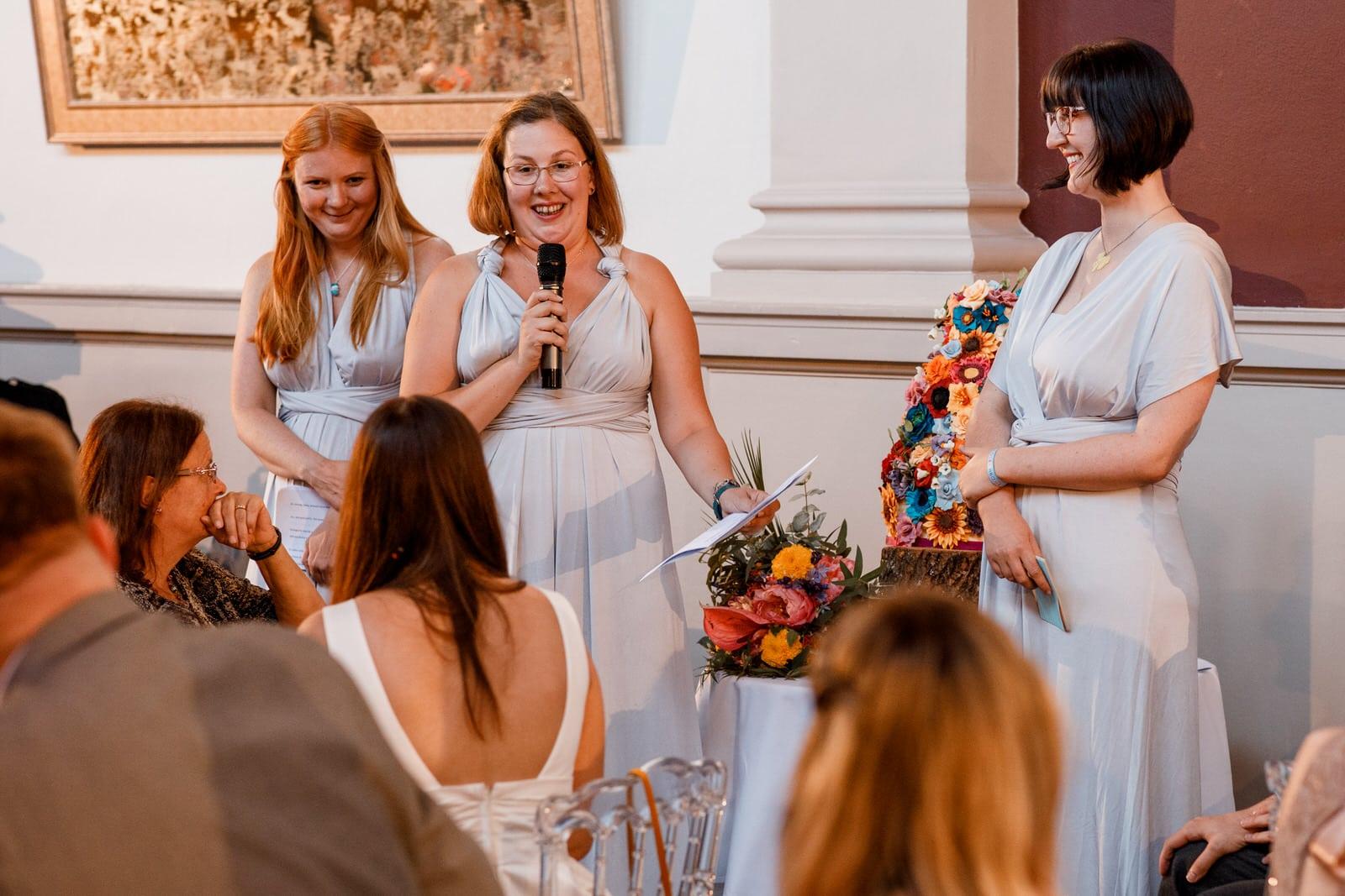 bridesmaid speeches