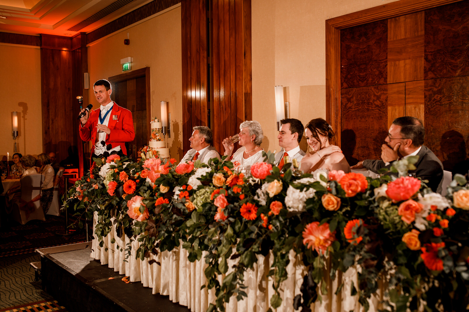 toastmaster introducing london wedding speeches