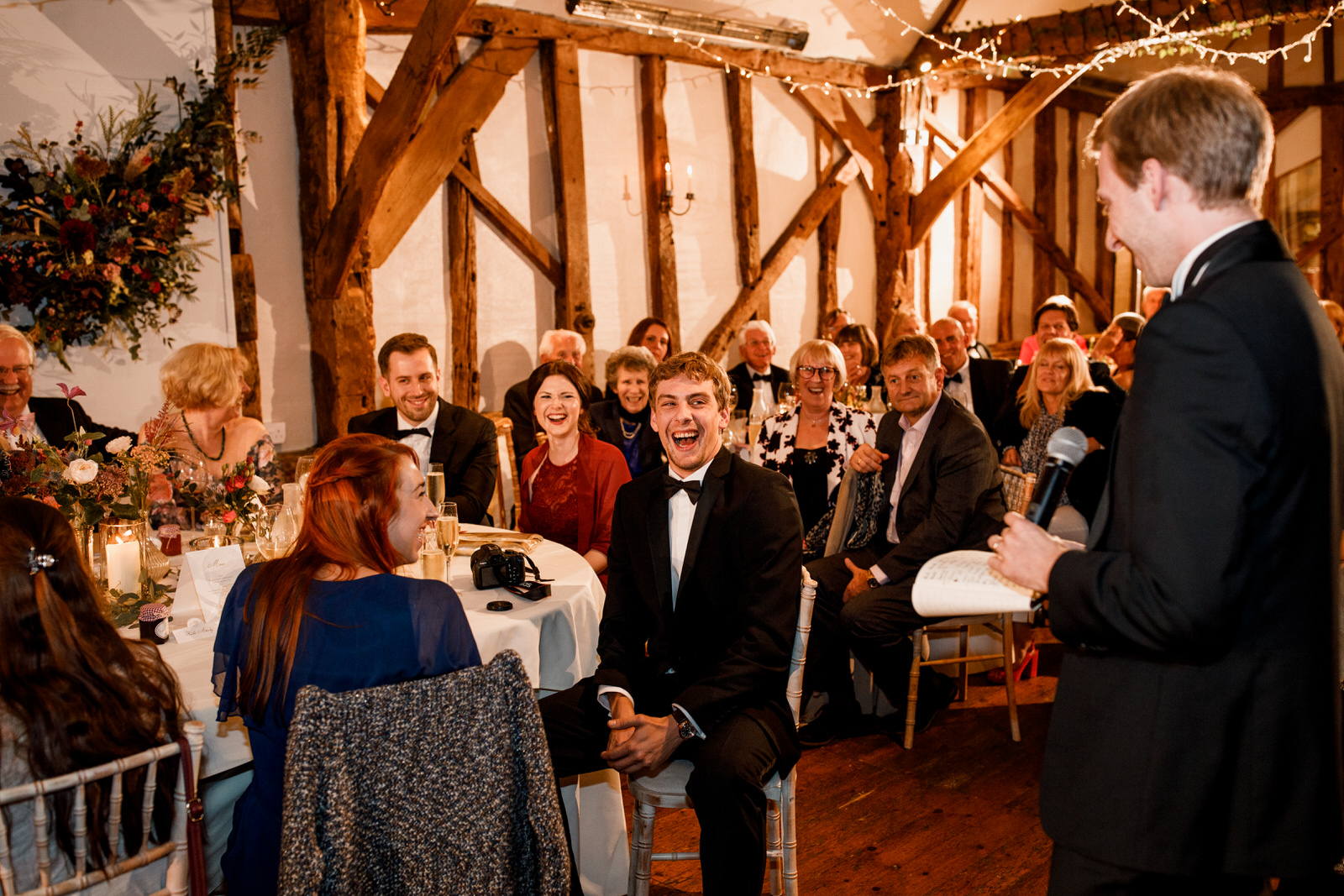 speeches at old luxters barn wedding