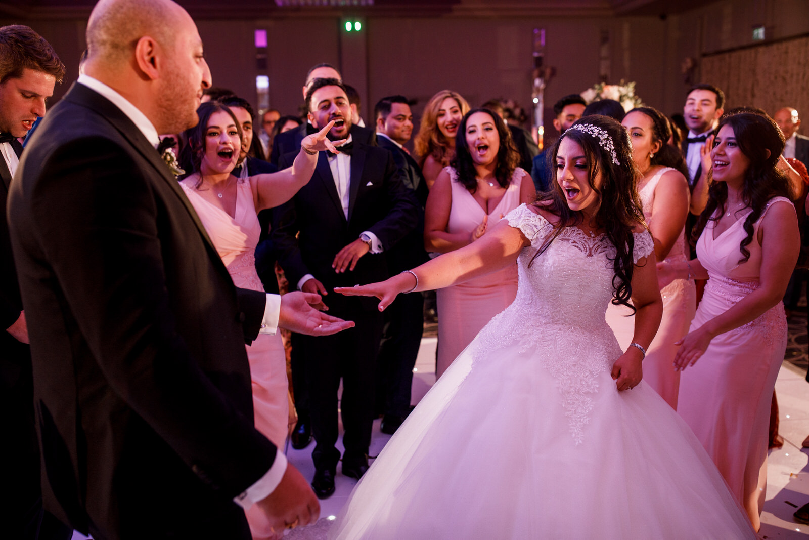 first dance at sopwell house wedding