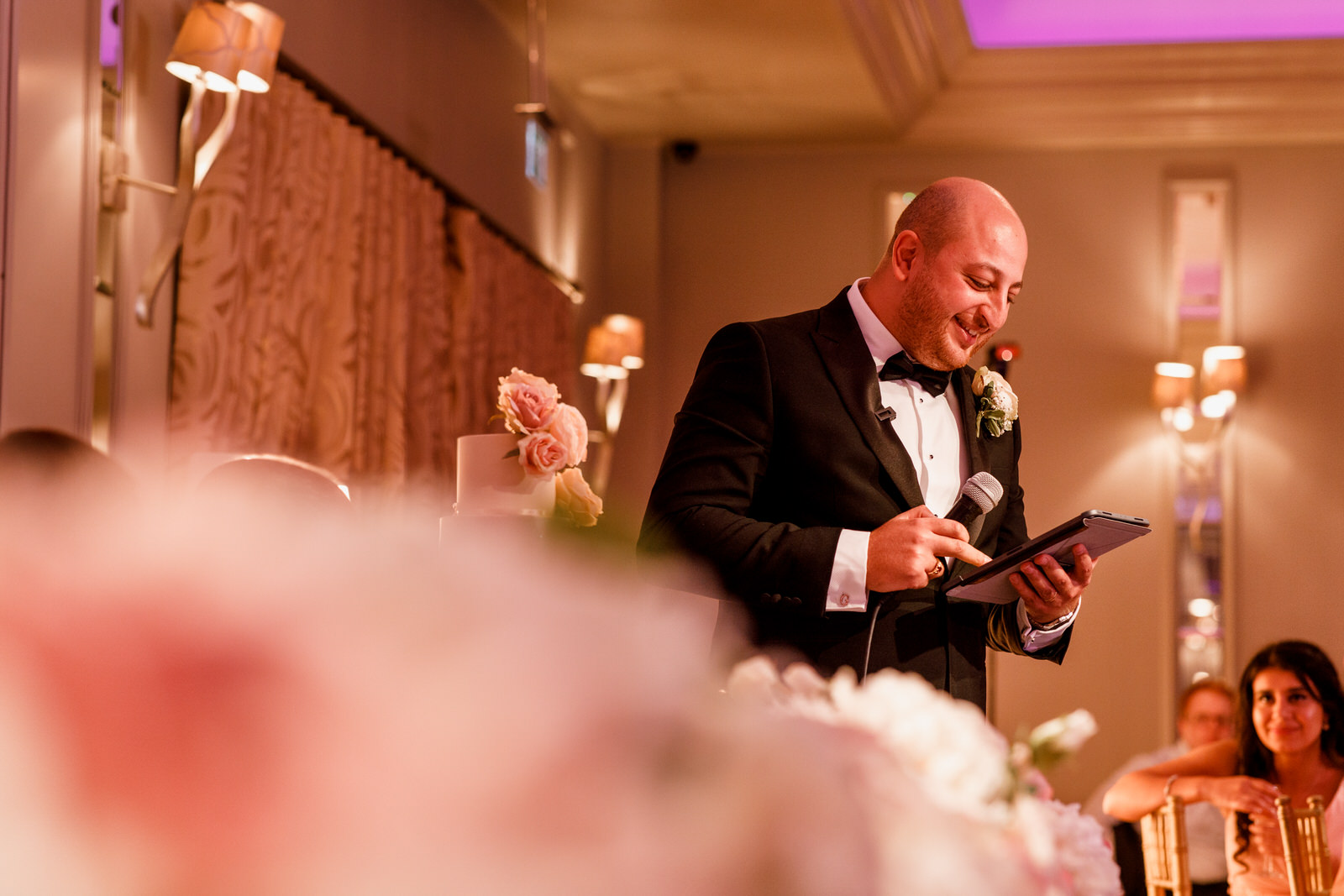 grooms speech at sopwell house wedding