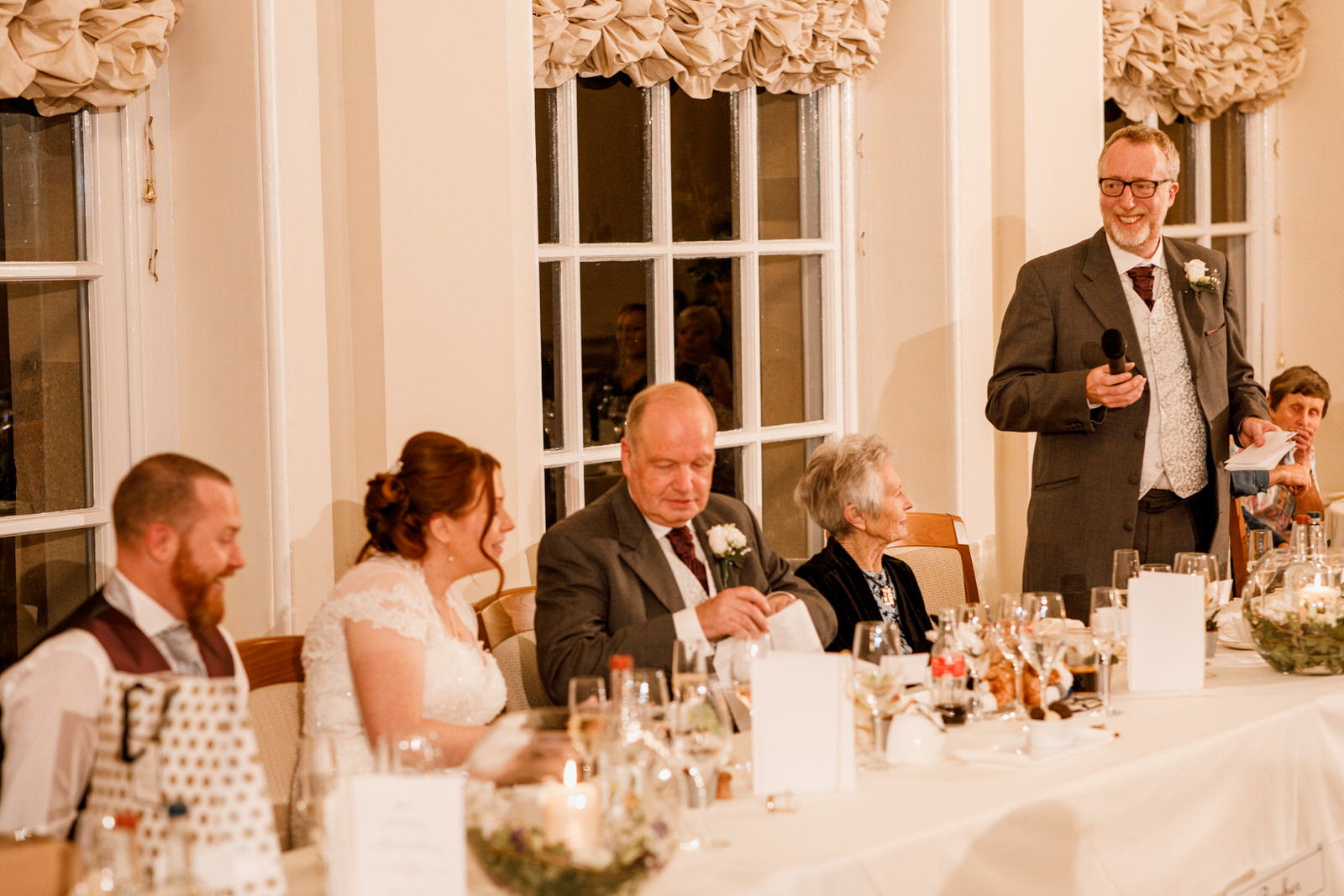 speeches at the orangery in blenheim palace