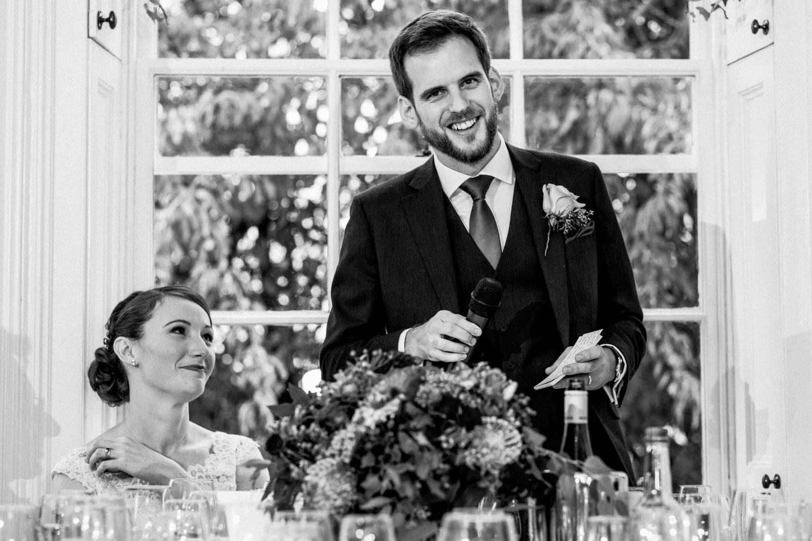 wedding speech at richmond park wedding