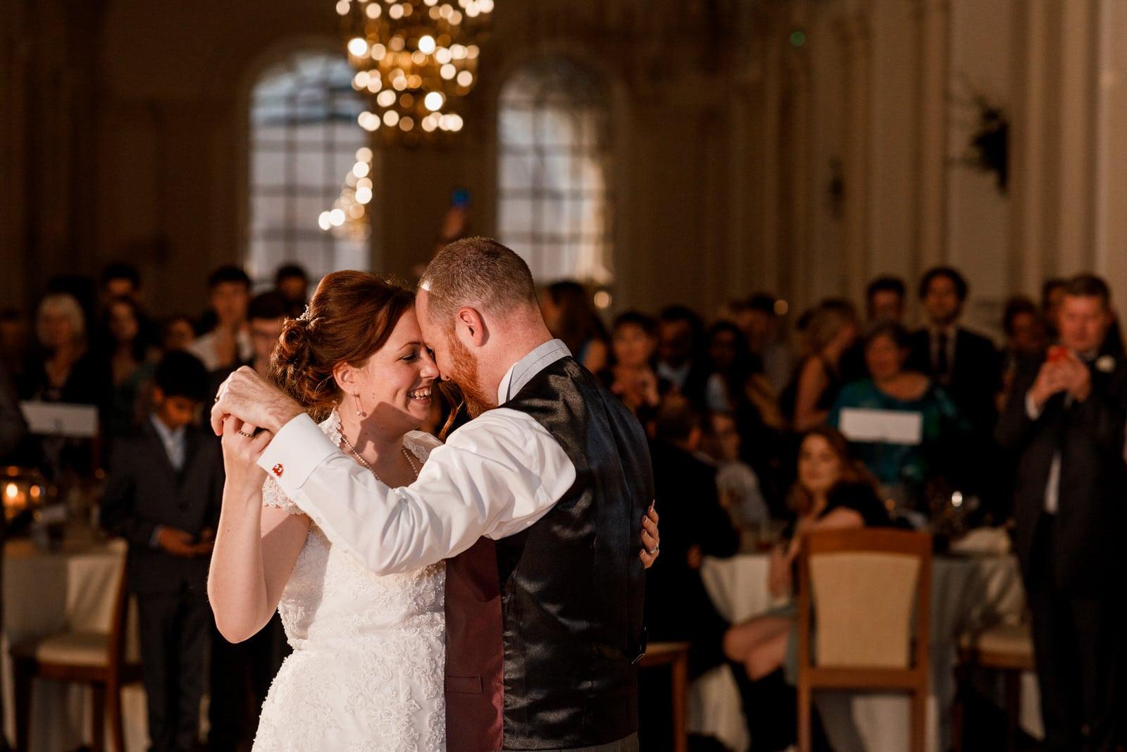 first dance at blenheim palace wedding