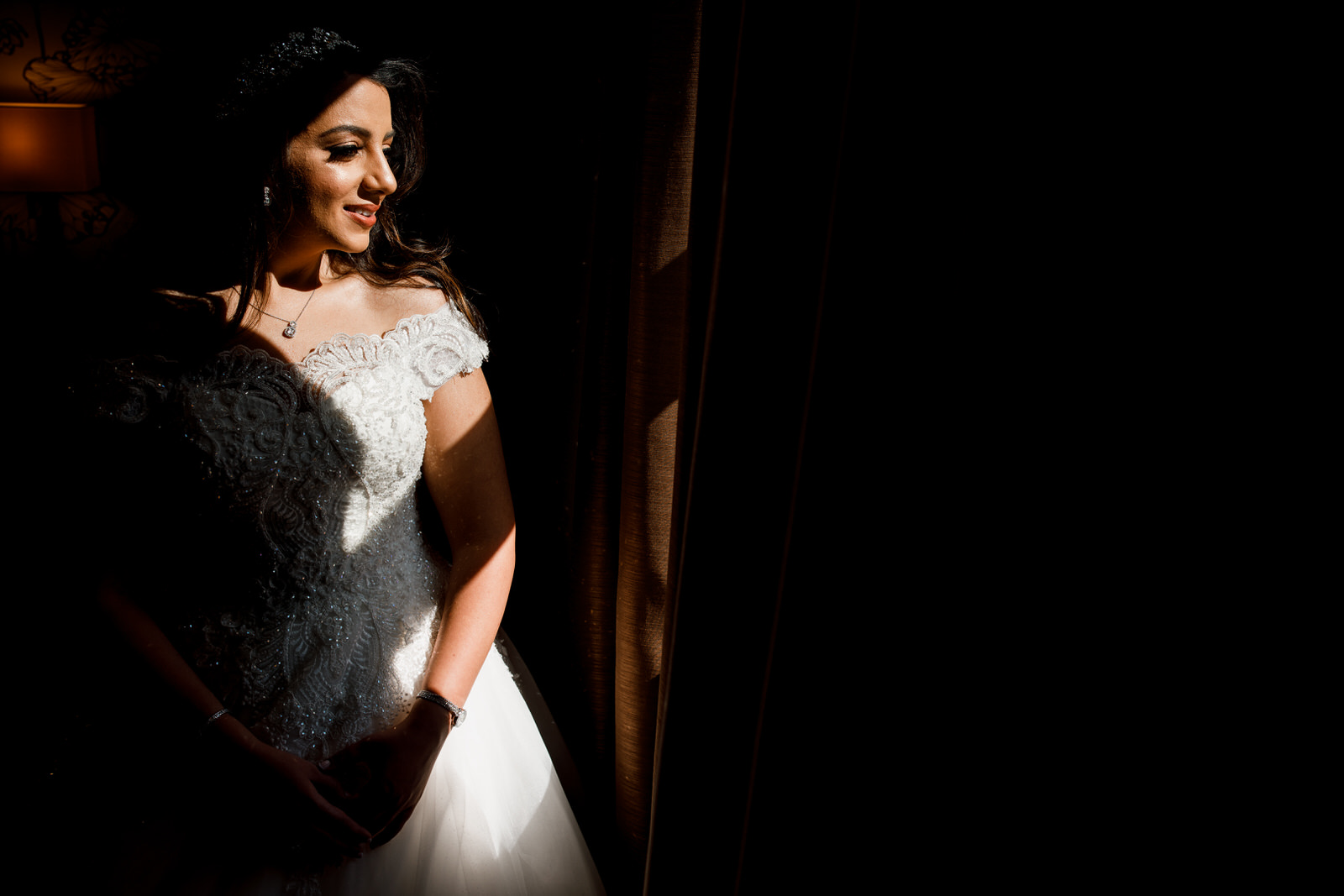 bridal portrait at sopwell house