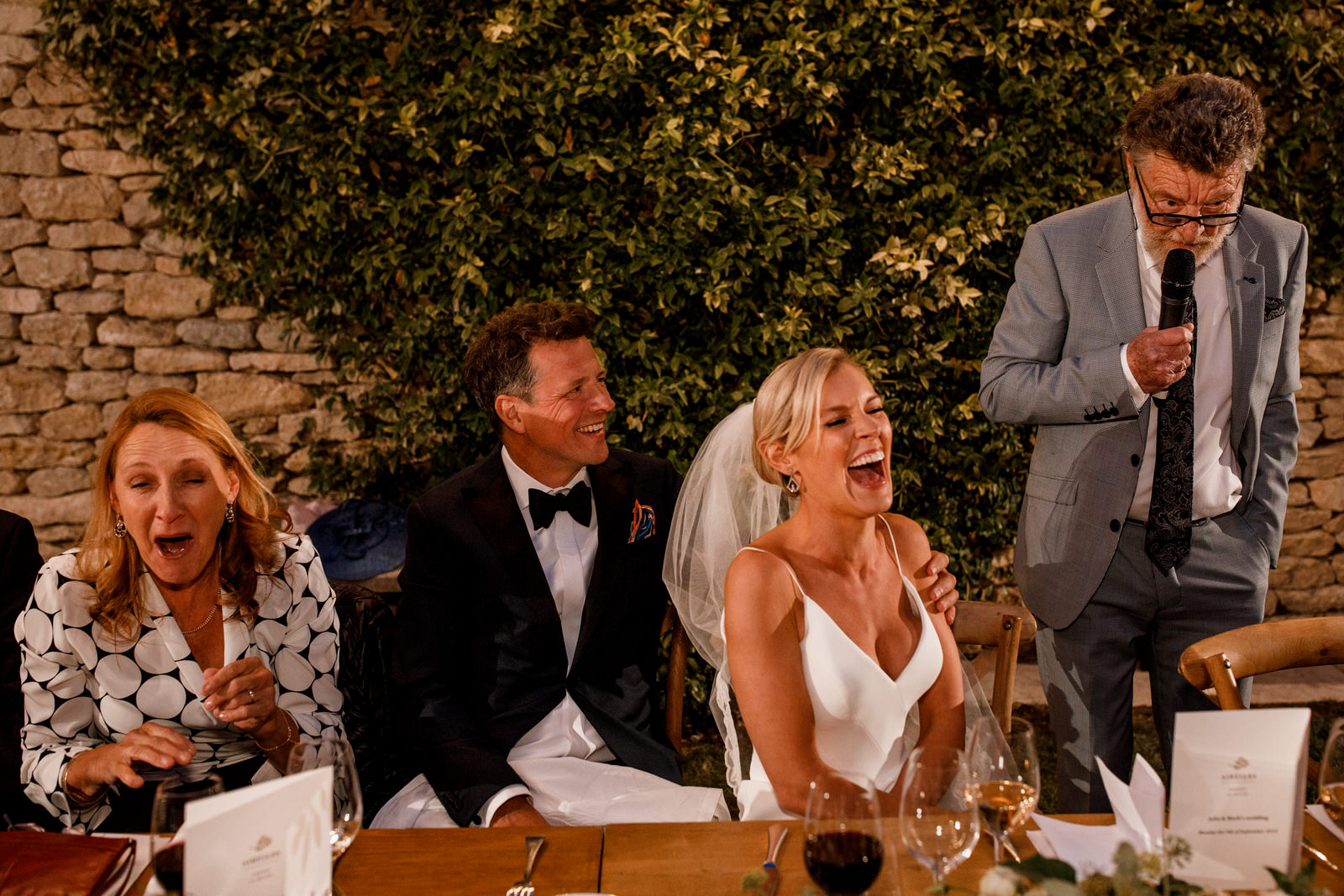 wedding speeches at provence wedding