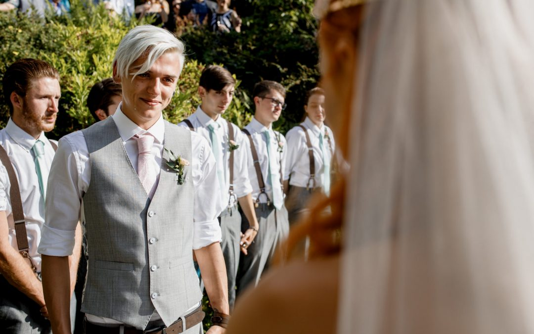 Back Yard Wedding Photographer – Felix and Jack