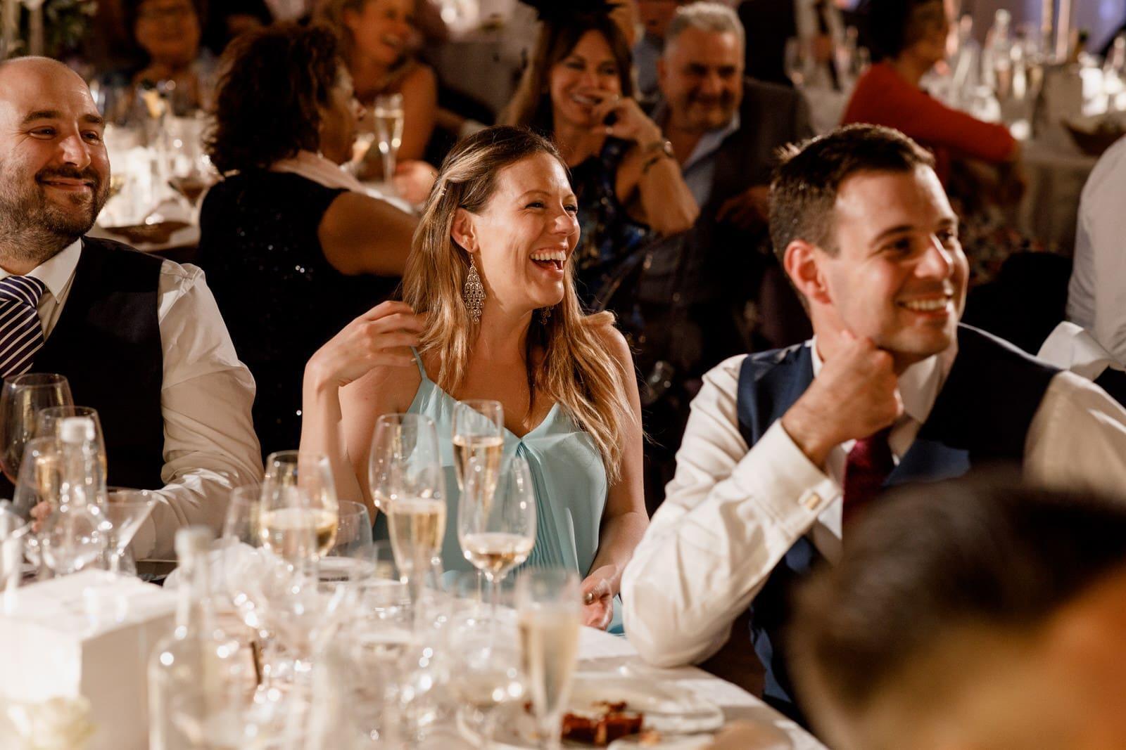 wedding speeches at one marylebone wedding
