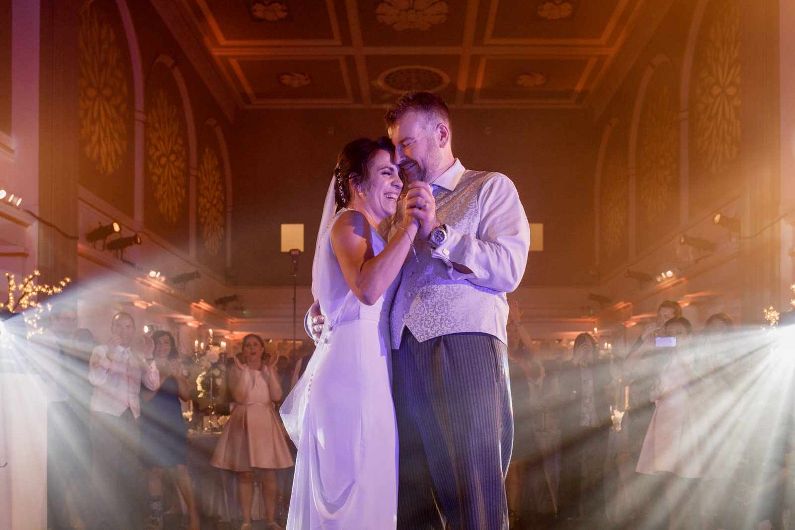 first dance at wedding in one marylebone